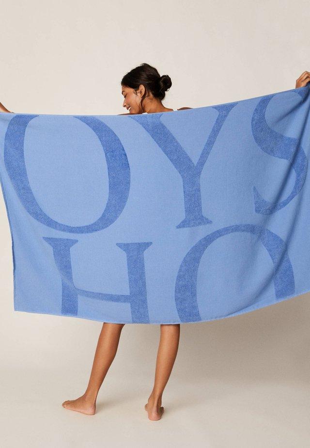 HANDTUCH MIT OYSHO-LOGO 30832439 - Accessorio da spiaggia - light blue