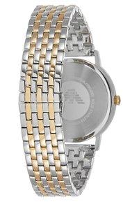 Emporio Armani - Hodinky - gold-coloured/silver-coloured - 2