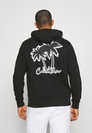 SUMMER GRAPHIC BACK PRINT HOODIE - Sweatshirt - black