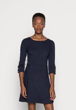 BUTTON DRESS - Sukienka letnia - evening blue