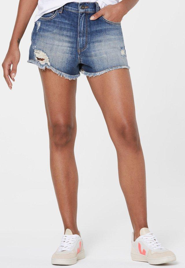 Denim shorts - light blue used