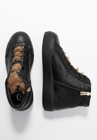 Bogner - HOLLYWOOD  - High-top trainers - black/nature - 4