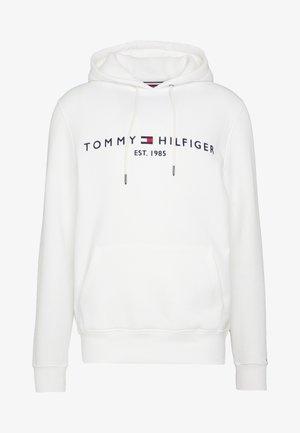 LOGO HOODY - Felpa con cappuccio - white