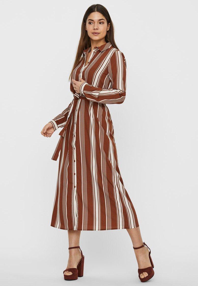 Mujer VMATHENS - Vestido camisero