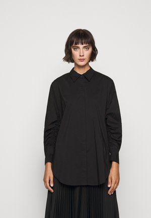 CLEMANDE FANCY SLEEVE BLOUSE - Camicia - black