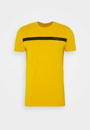 T-shirts med print - yellow