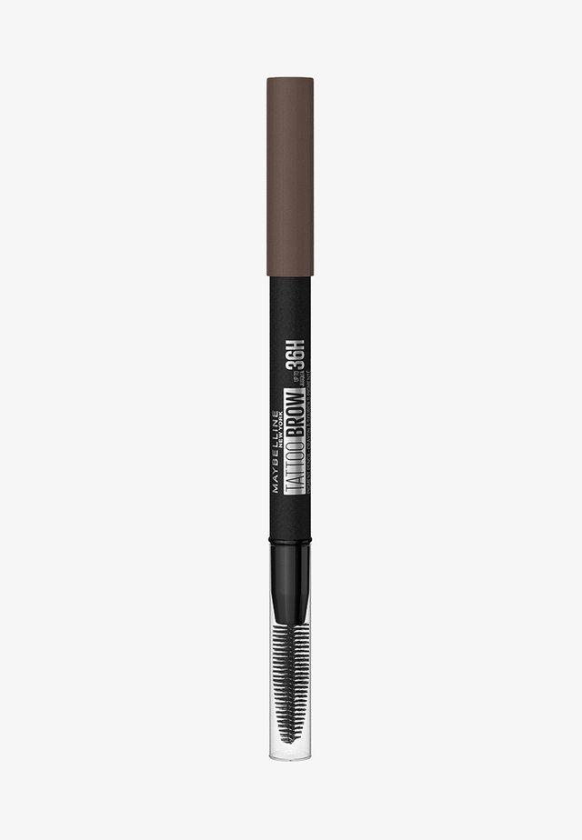 TATTOO BROW 36H - Crayon sourciles - 7 deep brown