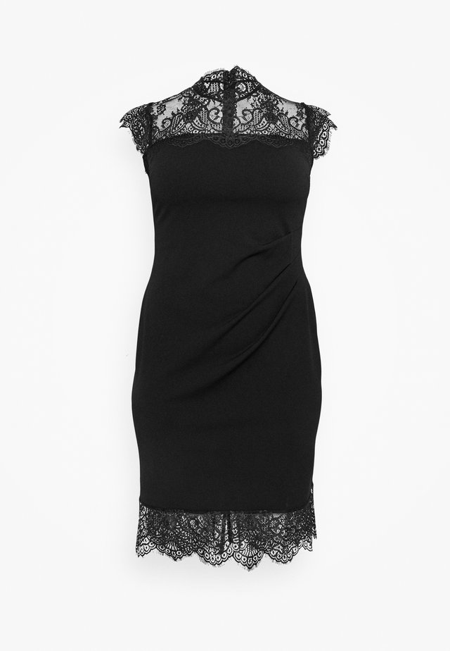 MADELYN CURVE - Cocktail dress / Party dress - black