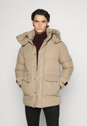JORRUN PUFFER - Winter coat - chinchilla