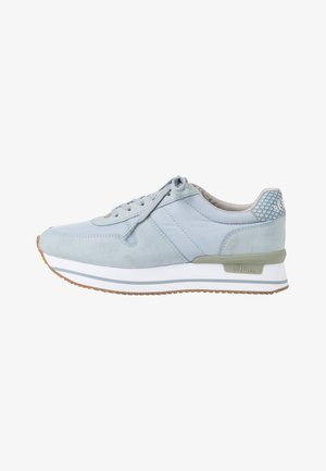LACE UP - Sneakers laag - lt blue