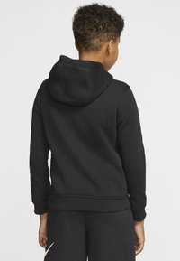 Nike Sportswear - CLUB - Hoodie - black/light smoke grey - 2