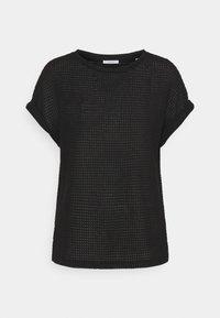 Opus - GARTENA - Print T-shirt - black - 0