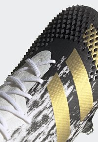 adidas Performance - FOOTBALL FIRM GROUND - Moulded stud football boots - ftwwht/goldmt/cblack - 6