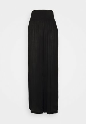 VMGRACEY WIDE PANTS - Pyjama bottoms - black