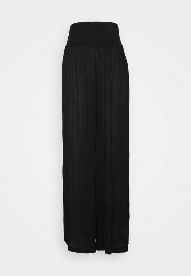 VMGRACEY WIDE PANTS - Pyjamabroek - black