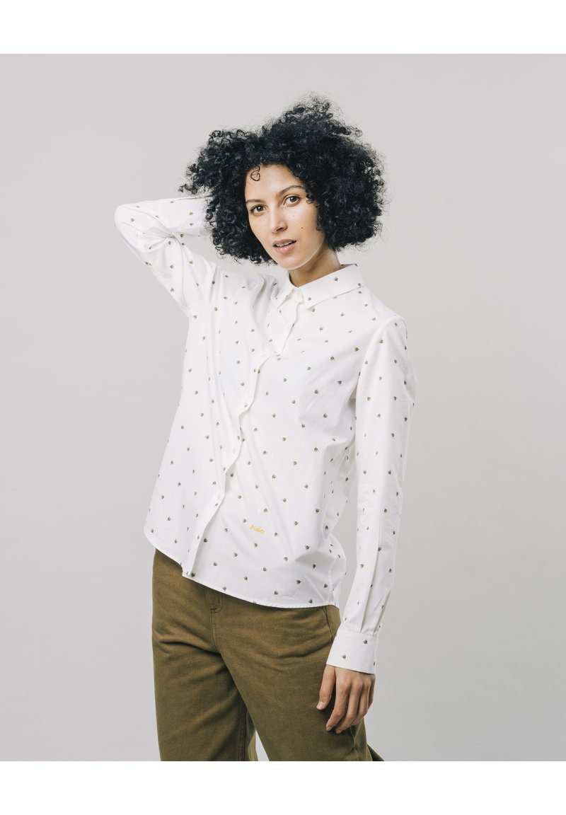Brava Fabrics - Button-down blouse - white