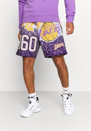 NBA LOS ANGELES LAKERS JUMBOTRON SUBLIMATED SHORTS - Squadra - purple