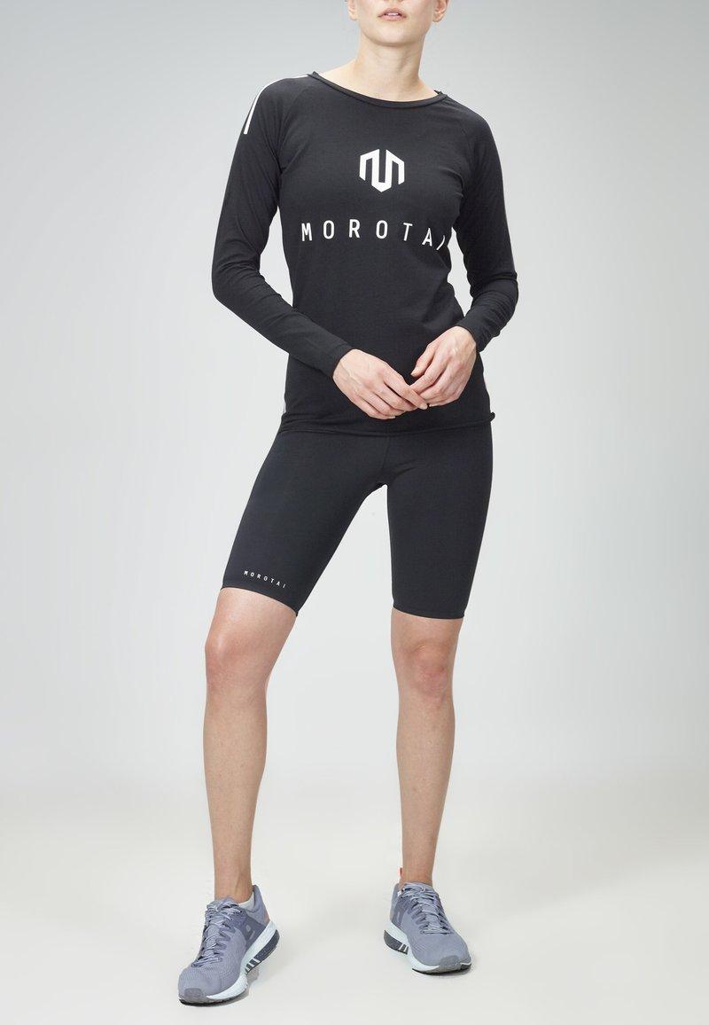 MOROTAI - Long sleeved top - black