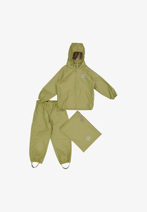 CHARLIE - Rain trousers - heather green