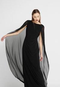 Lauren Ralph Lauren - CLASSIC LONG GOWN COMBO - Suknia balowa - black - 3