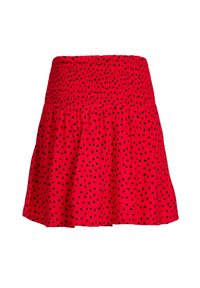 WE Fashion - MET HARTJESDESSIN - A-line skirt - red - 1