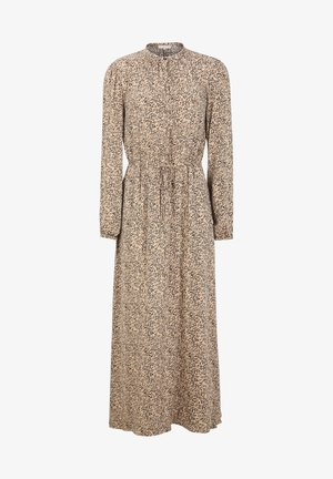 Maxi dress -  aviaja print warm sand