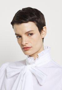 Alberta Ferretti - CAMICIA - Button-down blouse - white - 5