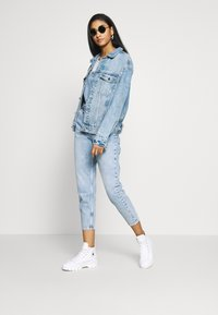 Free People - SHELBY OVERALL - Dungarees - blue - 1