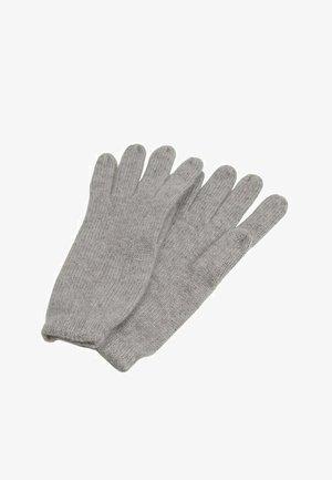 PERLAG - Gloves - gris chiné clair