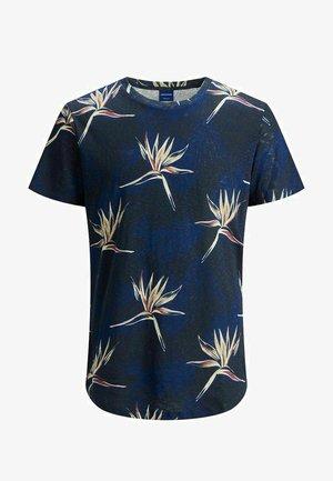 JORFLORALL - Print T-shirt - navy peony