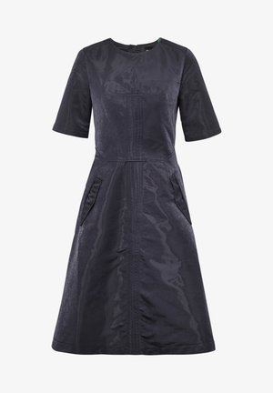 FIT AND FLARE - Day dress - mazarine blue