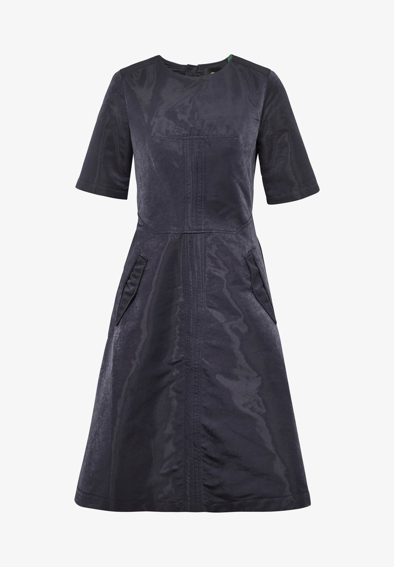 G-Star - FIT AND FLARE - Day dress - mazarine blue