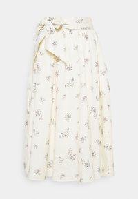 Cream - MENORCA SKIRT - A-line skirt - eggnog - 0