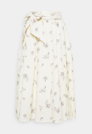 MENORCA SKIRT - A-line skirt - eggnog