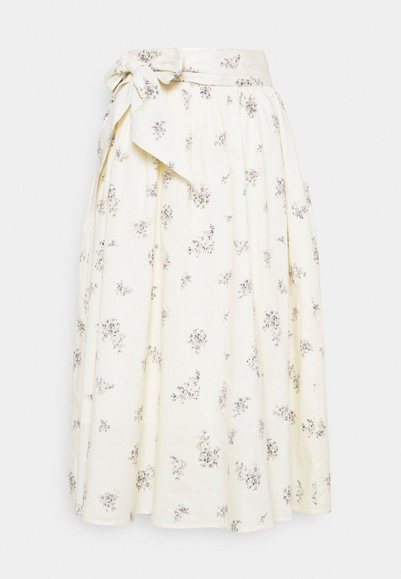 Cream - MENORCA SKIRT - A-line skirt - eggnog
