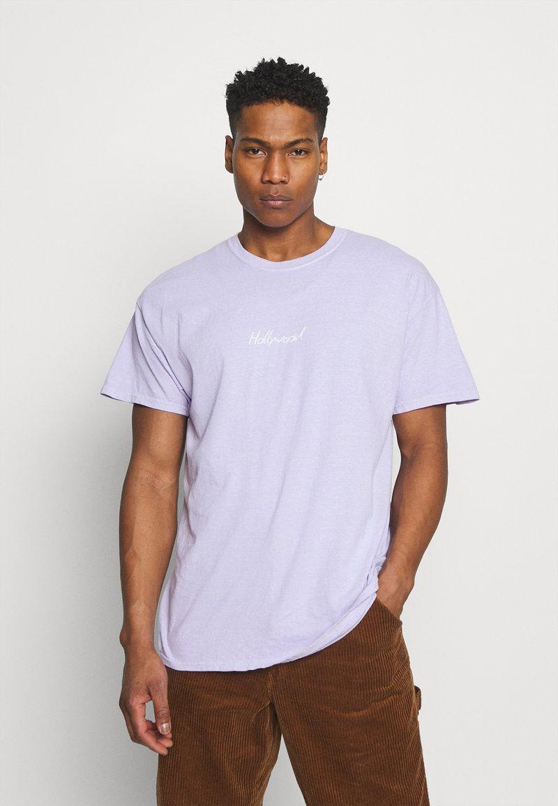 Topman - PARIS TEE - T-shirts print - lilac