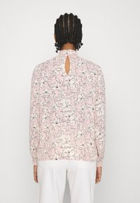 Vila - VIDOTTIES NEW SMOCK - Long sleeved top - misty rose/white - 2