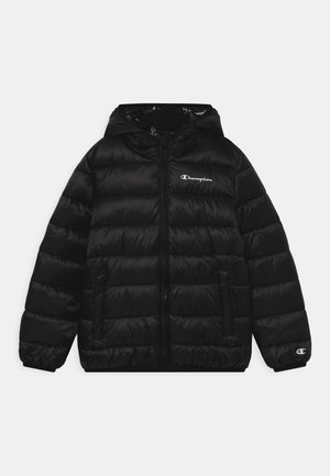 HOODED UNISEX - Zimní bunda - black