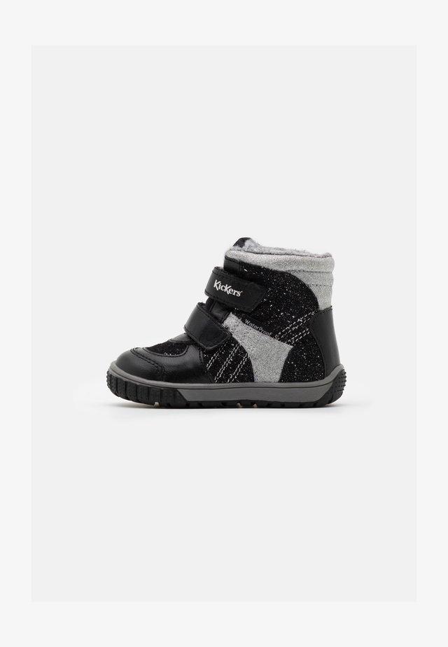 SITROUILLE WPF - Zimní obuv - noir/argent
