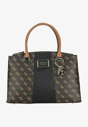 TYREN STATUS  - Handbag - brown/black