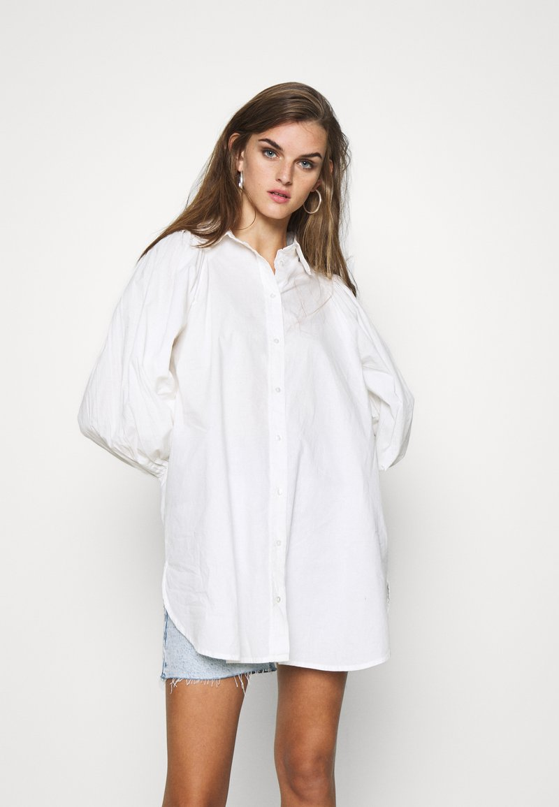 YAS - YASGEETA - Button-down blouse - star white