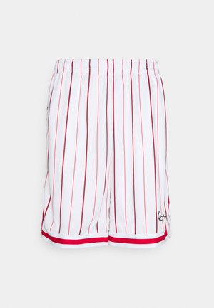SMALL SIGNATURE PINSTRIPE  - Shorts - white
