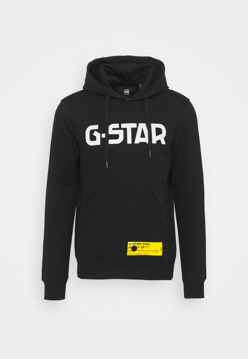 G-Star - HOODED SWEATER - Hoodie - black