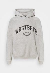 WRSTBHVR - OFFBEAT HOODIE UNISEX - Sweat à capuche - grey melange - 3