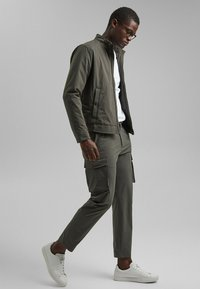 Esprit Collection - Cargo trousers - dark khaki - 3
