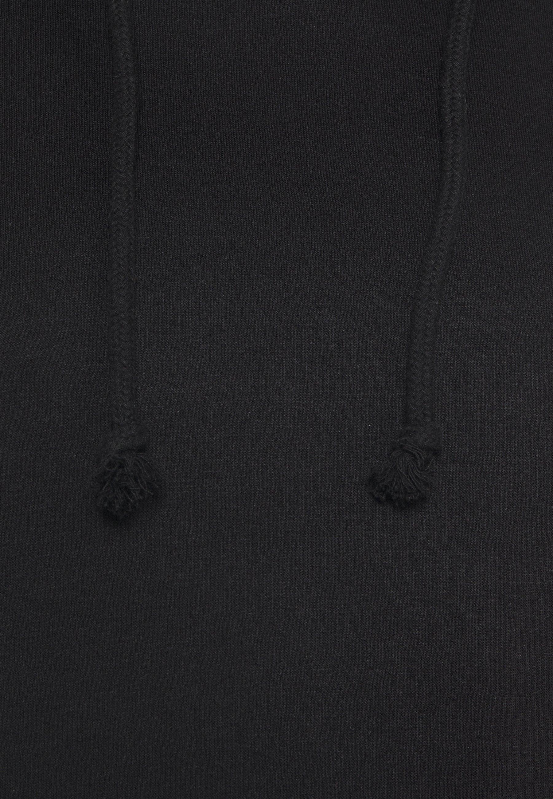 Missguided Petite Basic Hoody - Hoodie Black/svart