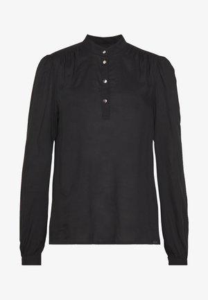 LANGARM - Blusa - black