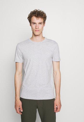 5 PACK - T-shirt - bas - black/dark blue