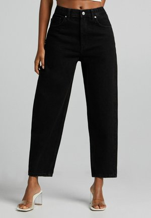 BALLOON - Jeansy Relaxed Fit - black