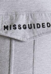 Missguided Maternity - BELTED EMBROIDERED - Košile - grey marl - 2